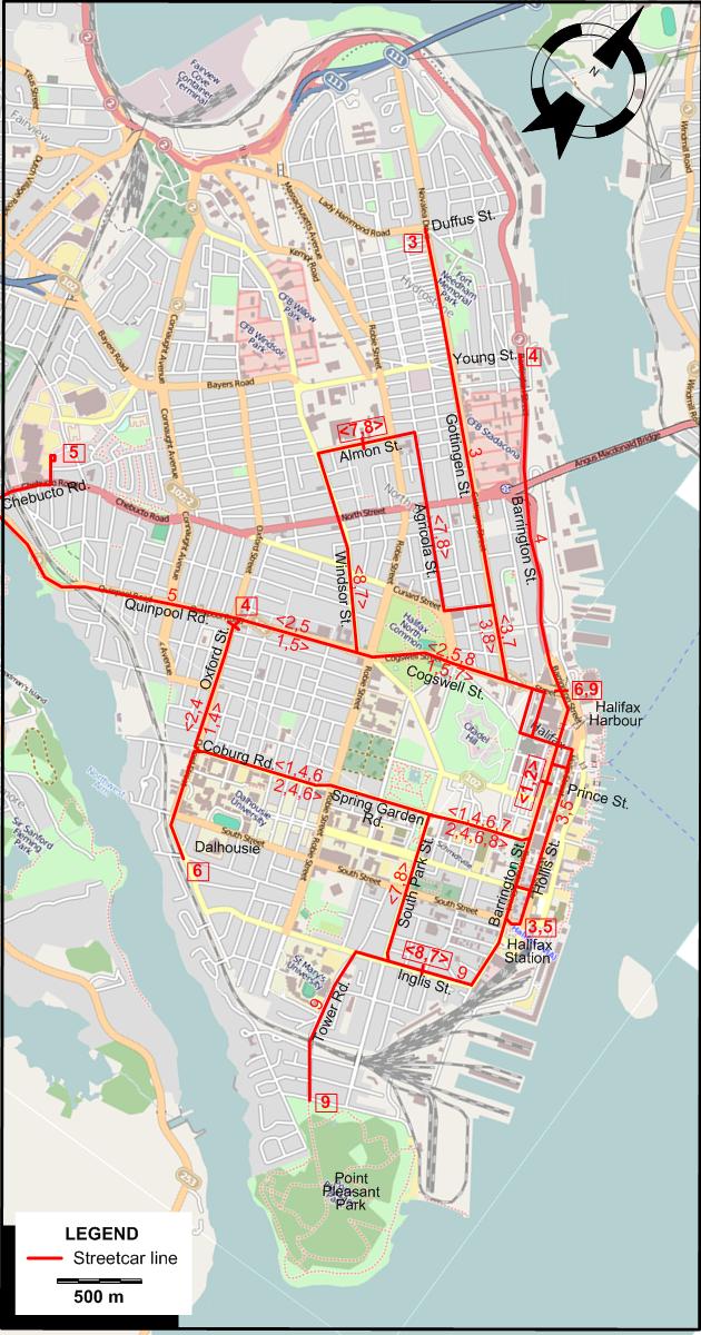 Halifax 1945