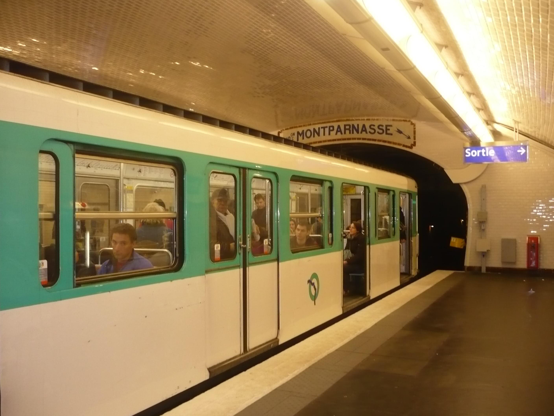 Paris 2016 - Gare montparnasse porte maillot ...
